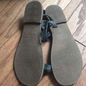 Mossimo Supply Co. Shoes - Gently used grey mossimo sandals